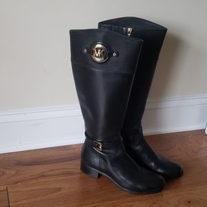Michael Kors knee high riding boots size7